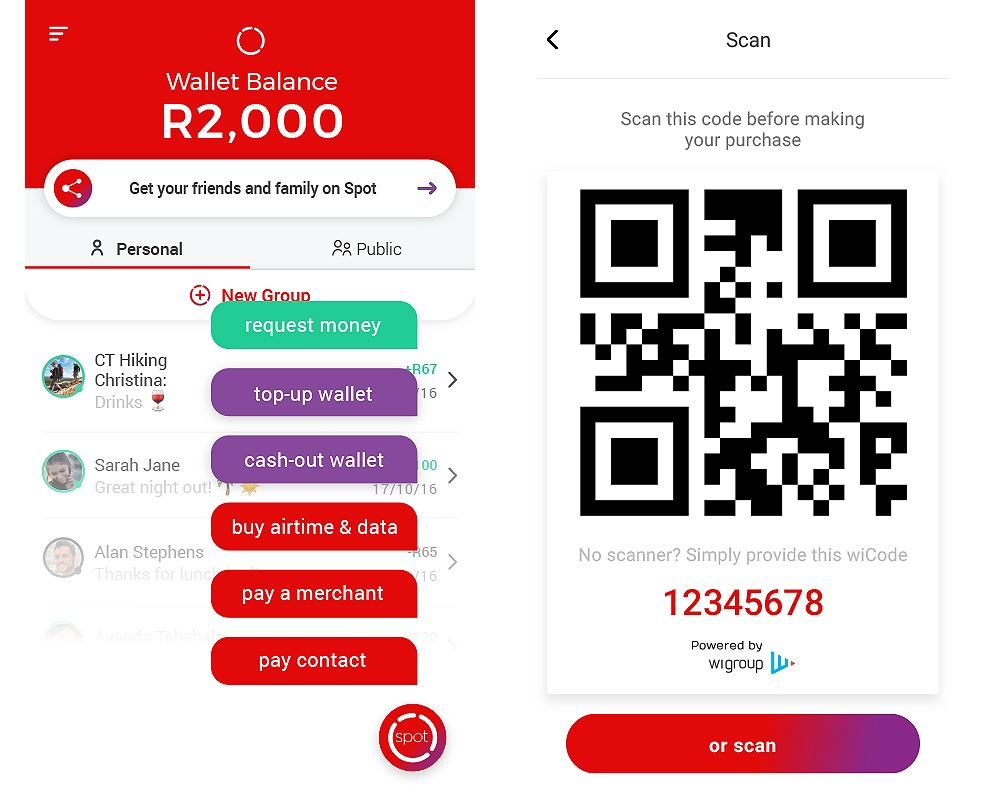 Spot App | Transfer Money | Send & Receive Money | Virgin Money